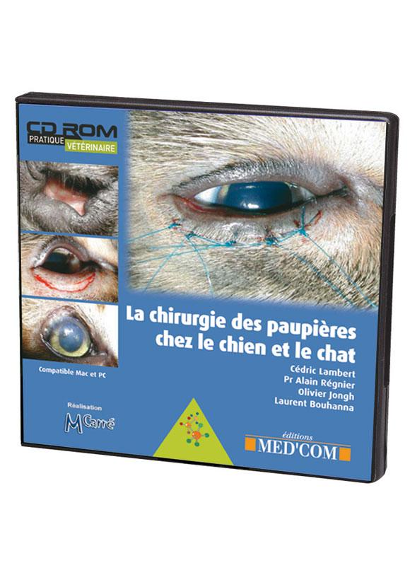 CD-ROM CHIRURGIE DES PAUPIERES CHEZ LE CHIEN ET LE CHAT